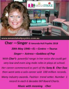 Cher Taurus female singer picture